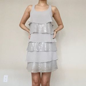 RW & Co Dresses - RW & Co • Dress in Silver 👗